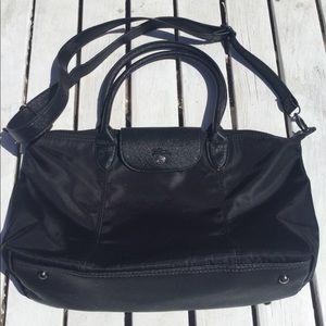 Handbags - Long Champ Nylon Bag